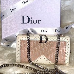 Authentic Christian Dior Wallet on Chain